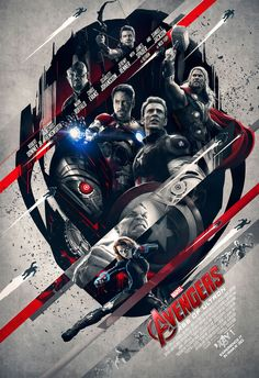 IMAX poster 2. Avengers: Age of Ultron.