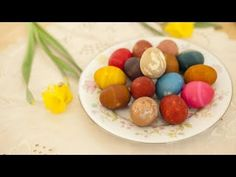 colorer des œufs avec des produits naturels