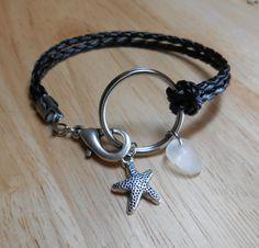 Sea Glass Jewelry - Nautical Ring Bracelet - TRAVELLER.
