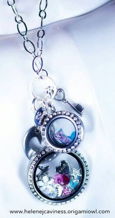Multiple lockets. www.taylorcharms.origamiowl.com.origamiowl.com #TaylorCharms #OrigamiOwl