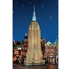 """Department 56: Products - """"Empire State Building"""" - View Lighted Buildings"""