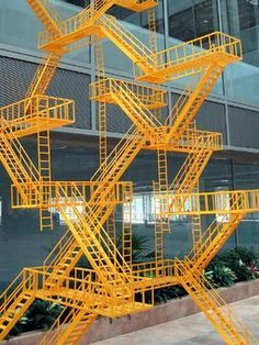 PARASITIC ARCHITECTURE - Google Search Stairs?