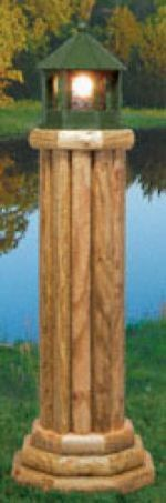 fee plans woodworking resource from WoodworkersWorkshop Online Store - landscape timbers,lighthouse,yard art,winfield,outdoors,fee woodworking plans,projects,patterns,blueprints,build,construction,how to,diy,do-it-yourself