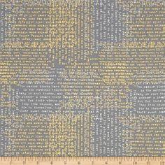 Moda Modern Backgrounds Luster Metallic Shakespeare Graphite