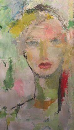 Abstract Portrait Painting, Portrait Art, Figure Painting, Oil Painting On Canvas, Painting & Drawing, Inspiration Art, Abstract Faces, Face Art, Figurative Art