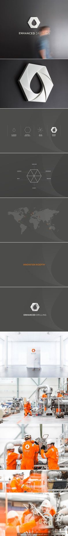 Enhanced Drilling, Branding/Corporate Identity by KIND | Conceptual Branding