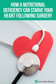<p>Heart surgery is a dangerous procedure. And the recovery is certainly no walk in the park. Even though your doctor may keep a close check on you, there's one area that recent researchers have found a big gaping hole. Some people are developing malnutrition related to their surgery and that leads not only to complications but poor recovery.</p> Gaping Hole, Fruit Plus, Health Options, Low Fat Yogurt, Bypass Surgery, Fish Oil, Heart Health, Nutritional Supplements