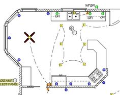 sample office electrical plan parra electric inc electrical rh pinterest com Electronic Circuit Diagrams Simple Electrical Circuit Diagram