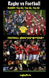 10 Reasons Why Rugby is Better Than Football - In The Loose Rugby Vs Football, Rugby Sport, Football Memes, Rugby Vs American Football, Rugby Teams, Soccer, Rugby Cup, Rugby World Cup, Rugby League