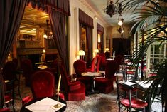 Hotel Costes Paris 1er. A classic for a romantic dinner