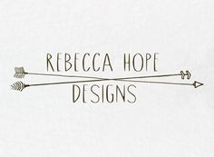Premade Business Logo: Two Rustic Arrows - with 3 Color Options on Etsy, $35.00