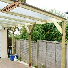 Car Port Design Manufacture and Installation by Top Class Carpentry