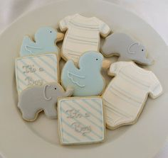 Cute for boy's baby shower! Very cute idea!