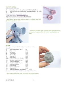 Crochet Doily Patterns, Crochet Bear, Knit Or Crochet, Crochet Patterns Amigurumi, Crochet Animals, Crochet Doilies, Crochet Hats, Knit Baby Booties, Crochet Elephant
