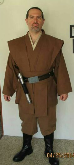 Jedi cosplay by Purple Witch Creations