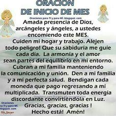 Oracion de Inicio de Mes