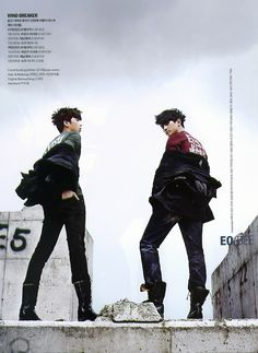 Taecyeon and Woo Young ♡ #2PM - Cosmopolitan Magazine November Issue '11