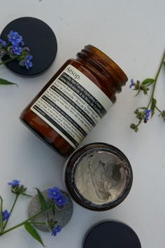 Aesop Camelia Nut Facial Hydrating Cream and Aesop Primrose Facial Cleansing Masque