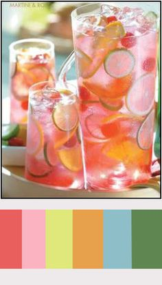 Pink Raspberry Tequila Sangria