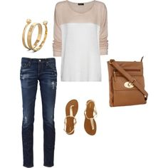 spring fashion..cute and simple!