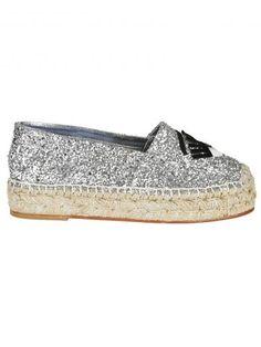 CHIARA FERRAGNI Chiara Ferragni Flirting Glitter Espadrillas. #chiaraferragni #shoes #https: