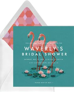 11 Virtual Bridal Shower Invitations That Aren't Tacky | Emmaline Bride Bridal Shower Favors, Bridal Shower Invitations, Birthday Invitations, Invites, Rsvp Online, Business Invitation, Invitation Paper, For Your Party, Foundation