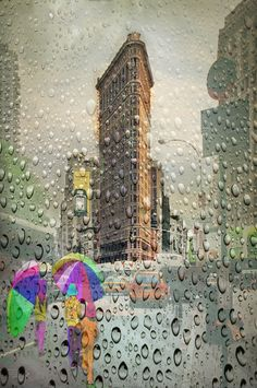 Rainy Day in New York.  Nellie Vin ©Photography