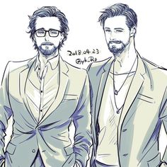 Tom Hiddleston & Chris Hemsworth || Avengers Infinity War Avant Premiere || Cr: yk_R3