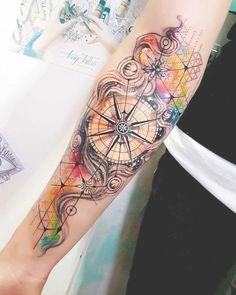 Tags: antique tattoos arrow tattoo designs clock tattoo compass designs compass tattoo compass tattoo ideas compass tattoo ideas for men compass tattoo Feather Tattoos, Skull Tattoos, Forearm Tattoos, Rose Tattoos, New Tattoos, Sleeve Tattoos, Tattoos For Guys, Tattoos For Women, Clock Tattoos