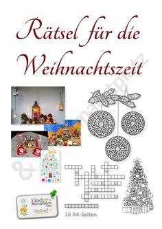 Weihnachtsrätsel – 19 Rätselseiten für die Advents- und Weihnachtszeit - Seite 1