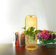 This modern desk/floor lamp doubles as a planter, and is a fantastic design piece for small spaces. Power Source: ACVoltage: Metal with fabric shades Fabric Lampshade, Led Floor Lamp, Modern Desk, Fabric Shades, Lamp Light, Planting Flowers, Planters, Colours, Flooring