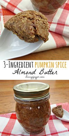 3-Ingredient Pumpkin Spice Almond Butter   chicagojogger.com