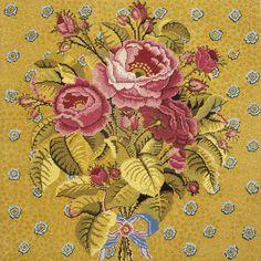 Golden Roses - Ehrman Tapestry