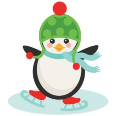 Freebie of the Day! Ice Skating Penguin Model/SKU: iceskatingpenguin120816