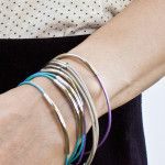 DIY Half and Half Chain and Bead Bracelet Tutorial | Transient Expression