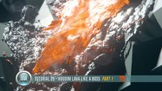 Tutorial 25 - Houdini Lava Like a Boss (Part 1)