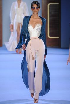 """ldolised: """" pvnkcouture: """" ulyana sergeenko ss14 """" I just want a life where this would be an acceptable daily wardrobe """""""