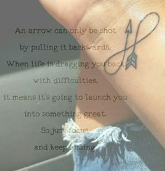 Infinty arrow tattoo meaning …