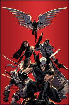 Uncanny X-Force    Art by Khary Randolph and Emilio J. Lopez