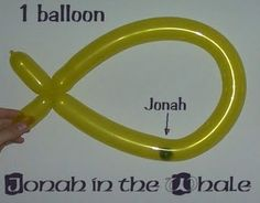 cute idea for Jonah and the Whale