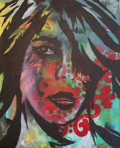 Graffiti Self Portrait Painting Lessons, Painting Art, Art Lessons, Beacon Academy, Self Portrait Art, Art Lesson Plans, Teacher Stuff, Fun Crafts, 2d