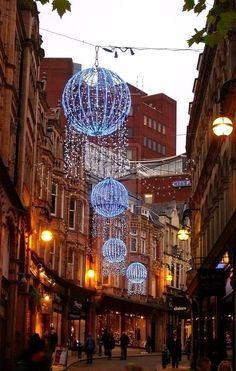 Christmas in Birmingham, England, UK