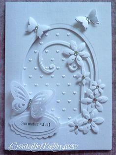 A Scrapjourney blog - Lovely white on white