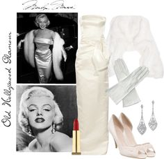 """""""Old Hollywood Glamour"""" by ktisuhgee ❤ liked on Polyvore"""