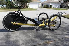 David Bruce Trikes featuring custom made Front Wheel Drive Recumbent Tricycles