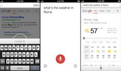 Chrome for iOS update adds voice search, faster reloading for cached pages