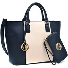 b7662aa8e639  This MMK collection Quilted Buckled Satchel handbag is a great purse and  Wristlet wallet combination