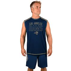 NFL Los Angeles Rams Adult men NFL Plus S/Synthetic Muscle,3XT,Storm Grey/Navy  https://allstarsportsfan.com/product/nfl-los-angeles-rams-adult-men-nfl-plus-s-synthetic-muscle3xtstorm-grey-navy/  NFL big and tall Muscle Tank Screen print