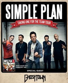 Simple Plan en concert en France en 2016