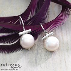 Hello, beautiful! These freshwater #pearls are the perfect complement to any outfit. | #Silpada #WomensFashion  Www.mysilpada.com/Kate.hekman